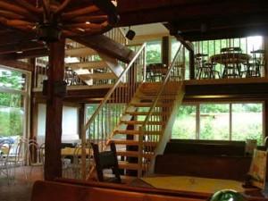 Restaurant über 3 Ebenen