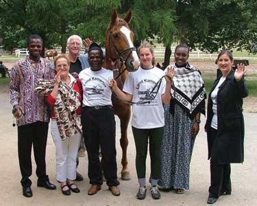 Kamerun hat viele Freunde. Besonders freuen wir uns über unserer Freunde aus Kamerun/Afrika