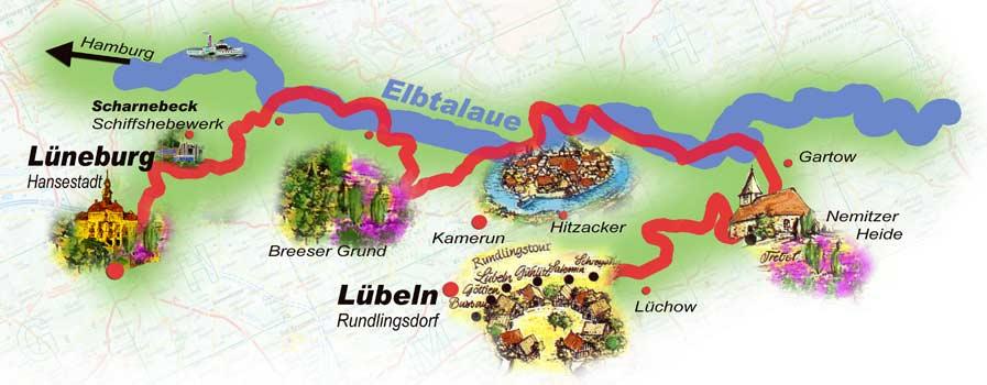 HeideRadweg Lüneburger Heide
