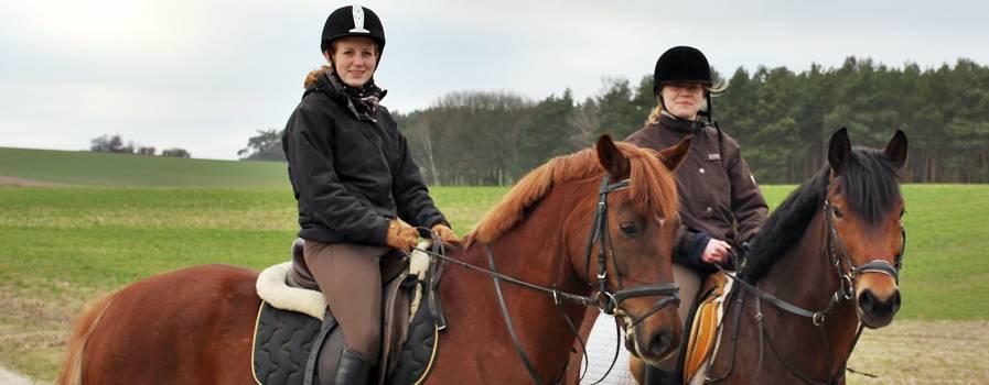 Urlaub mit eigenem Pferd