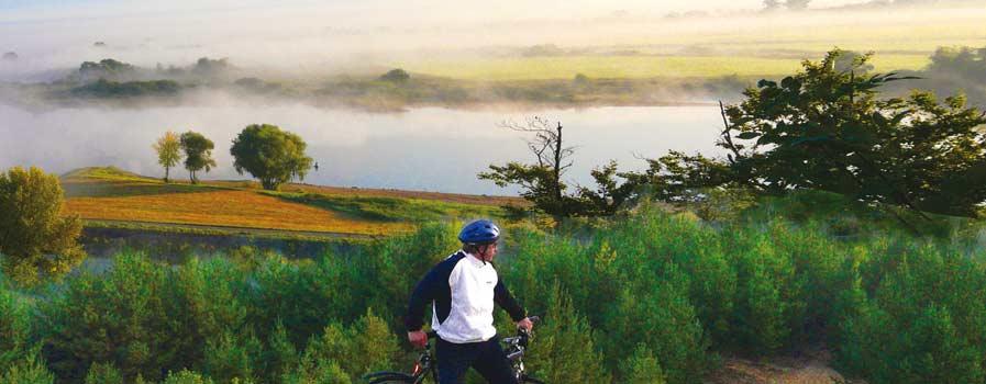 Radfahren Elbtalaue